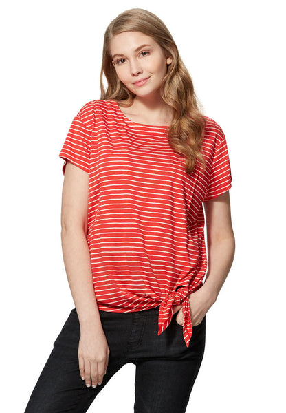 Cool Cotton Tie Front Nursing Top