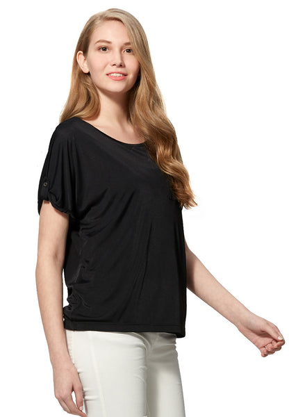 Cooling Silky Maternity & Nursing Top