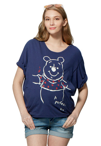 Disney Winnie the Pooh Maternity & Nursing Loose Top