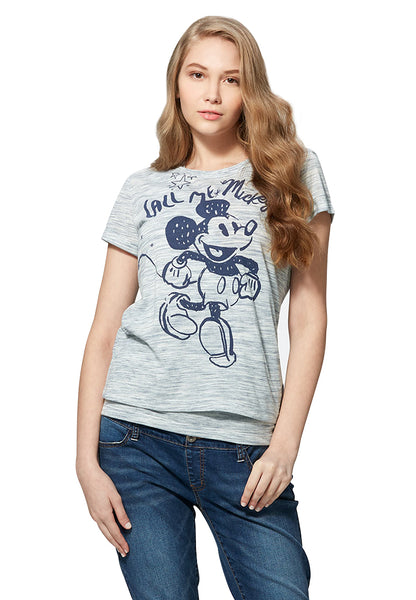 Disney Call Me Mickey 2-Piece Nursing Tee