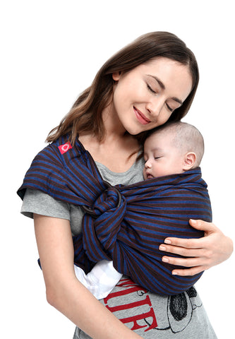 Blueberry Brownie Baby Ring Sling Gendongan Bayi