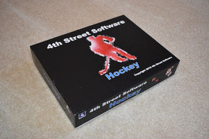 4th Street Hockey Board Game