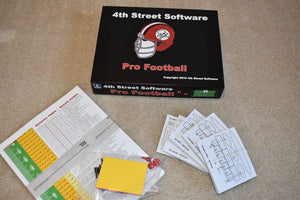 Football-Game Parts, Play Cards, etc.