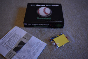 Baseball-Game Parts, etc.