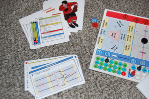 4th Street Hockey ezv Board Game
