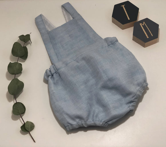 Linen Romper - Taylor Mayd Baby Clothing & Accessories