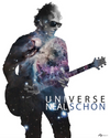 Neal Schon UNIVERSE wall poster that unlocks Neal's world of AR!