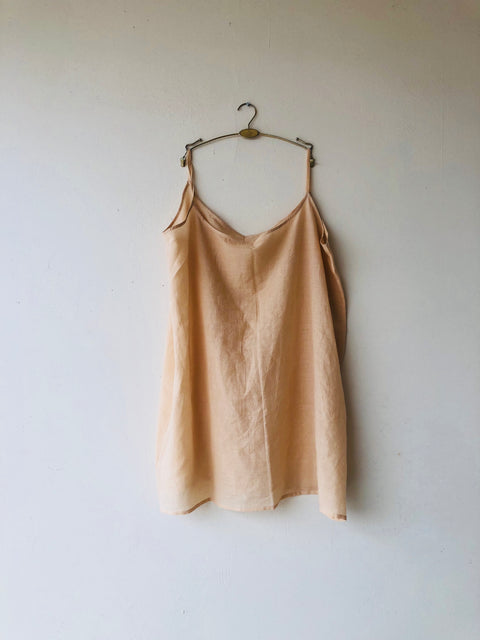 100% organic cotton slip for the feminist shirt dress in cotton silk