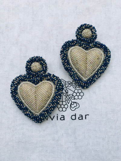 Blue & Silver Alghero Earrings