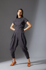 On Location Ribbed Top & Trouser Set