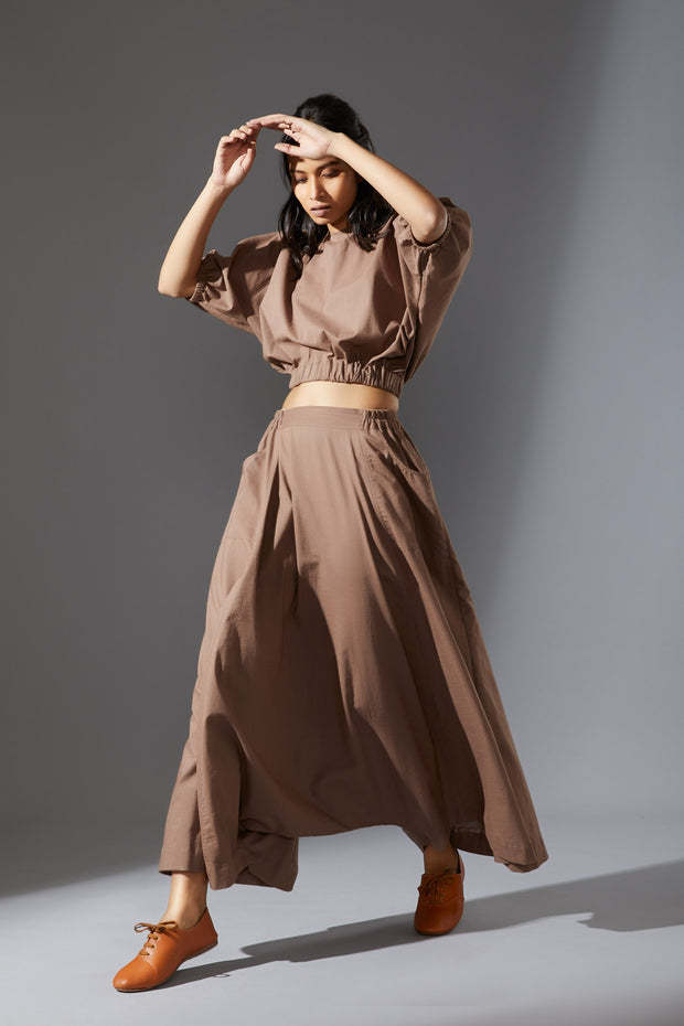 Nomad Top & Baggy Trousers Set