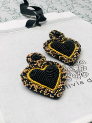 Black & Gold Alghero Earrings