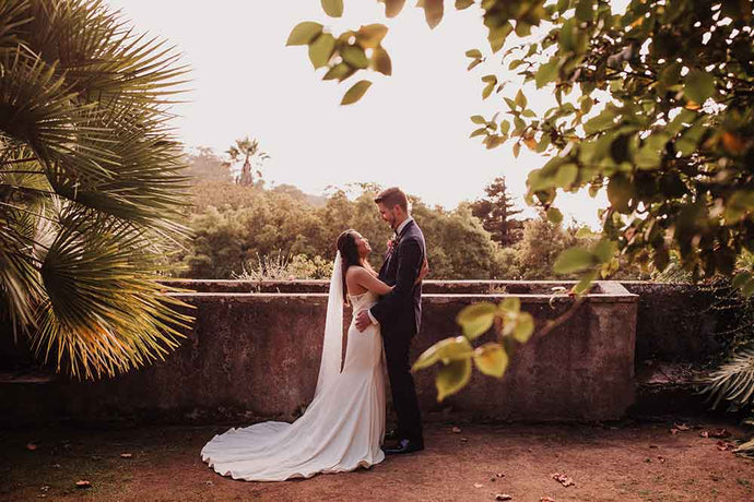 Bright, Bohemian Micro-Wedding in Sintra, Portugal