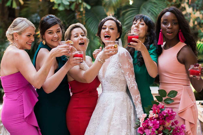 Recipes to Make Your Wedding Cocktail Hour POP!