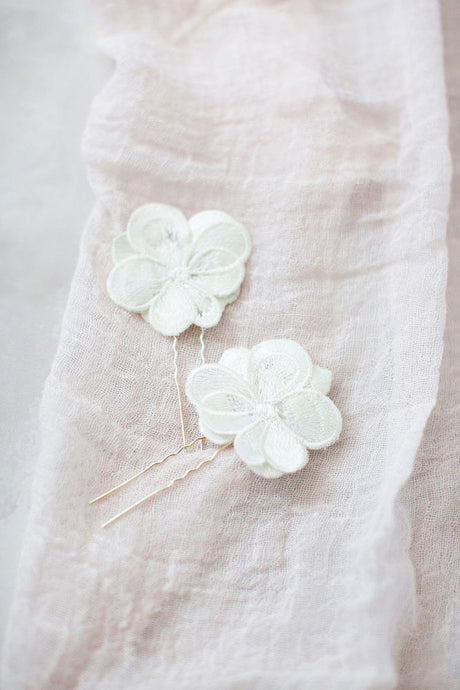 Magnolia Hair Pins