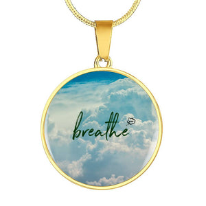Breathe Circle Pendant