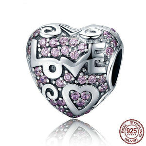 925 Sterling Silver Love Song Charm