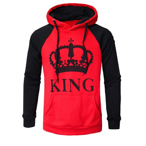 King Red/Black Slim Hoodie