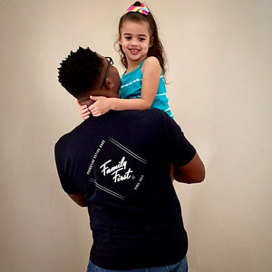 Family First Tee (Black)