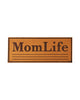 Real Leather MomLife Velcro Patch