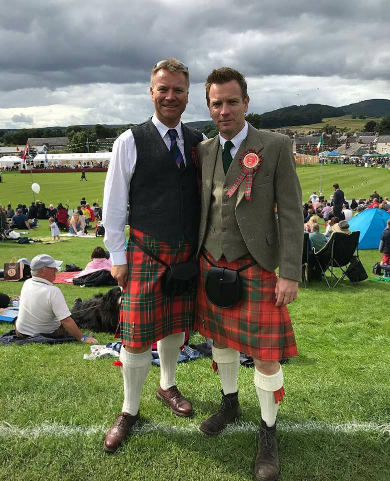 Ewan McGregor Gordon Nicolson kiltmakers