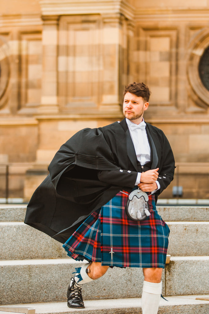 university of edinburgh kilt gown
