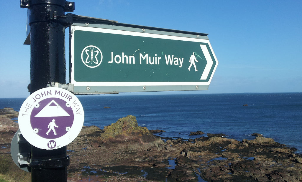John Muir Way sign