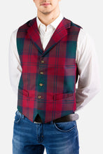 Load image into Gallery viewer, Made-To-Measure Tartan Waistcoat