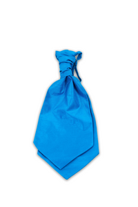 Bright Blue Hire Cravat