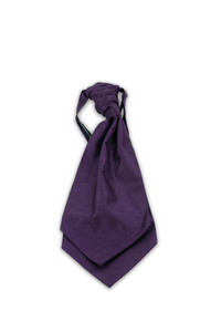 Purple Hire Cravat