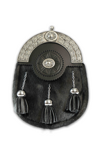 Load image into Gallery viewer, Celtic Badge Dress Sporran