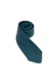 Muted Blue Wool Tie