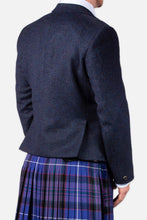 Load image into Gallery viewer, Navy Tweed Hire Jacket & Waistcoat