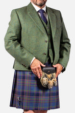 Load image into Gallery viewer, Lovat Tweed Hire Jacket & Waistcoat