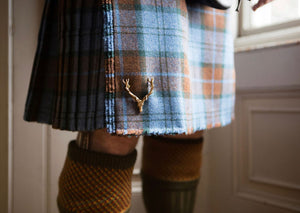 Stag Kilt Pin by Norman Milne