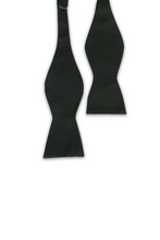 Load image into Gallery viewer, Black Bow Tie (Self-Tie)