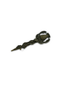 Thistle Kilt Pin (Antique Brass)