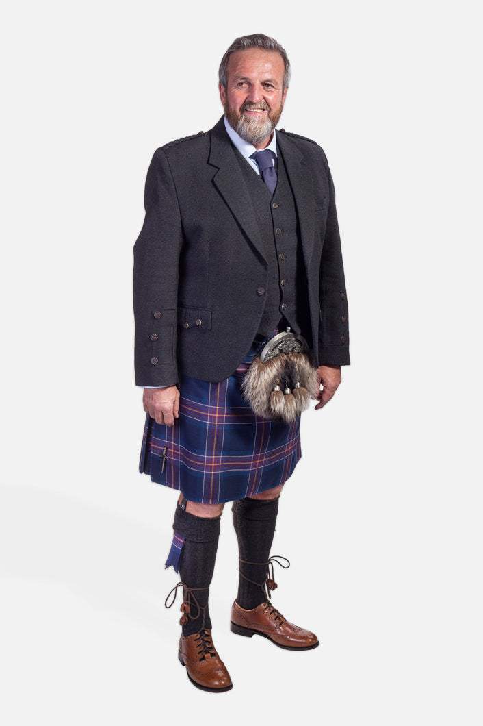Scotland National Team / Charcoal Holyrood Hire Outfit