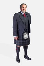Load image into Gallery viewer, Highland Granite / Charcoal Holyrood Hire Outfit