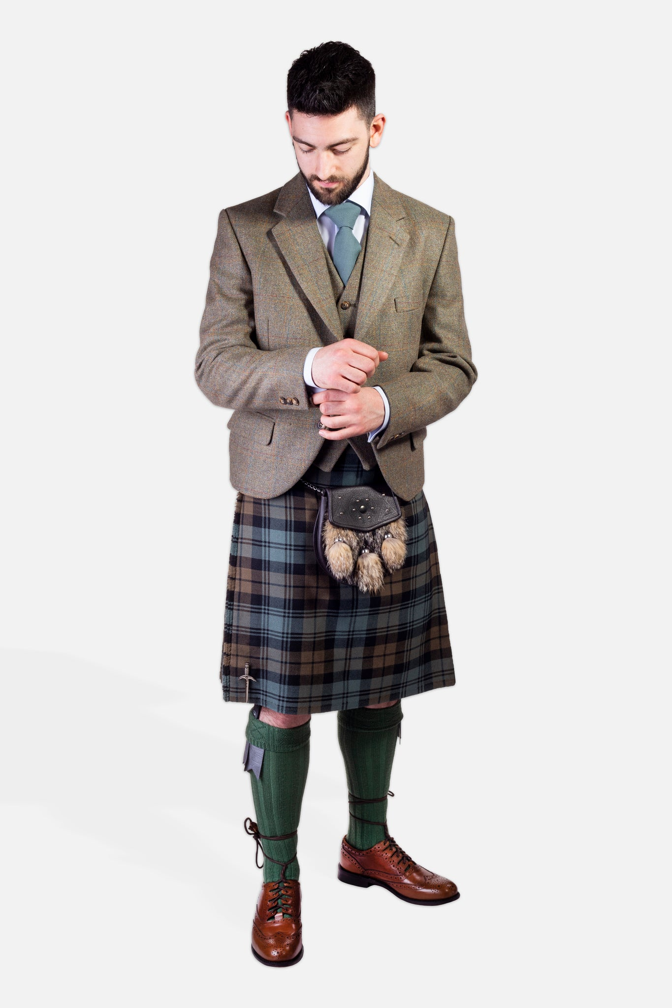 Black Watch Weathered / Nicolson Tweed Hire Outfit