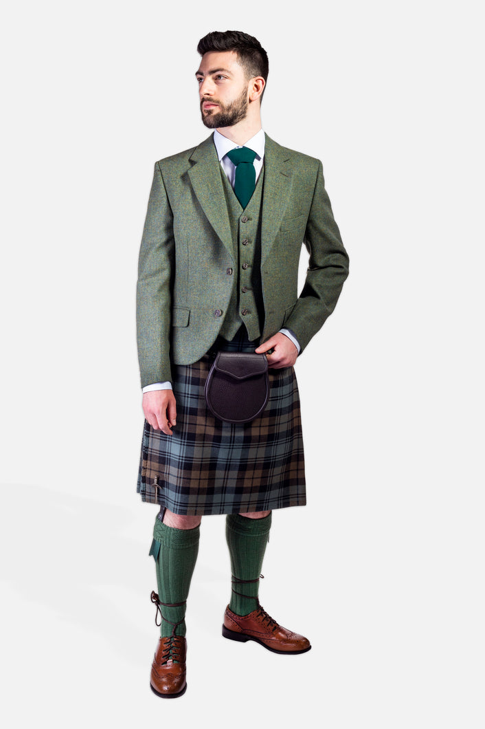 Black Watch Weathered / Lovat Tweed Hire Outfit