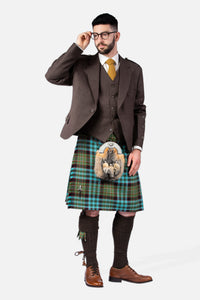 Hunting Nicolson Muted / Peat Holyrood Hire Outfit