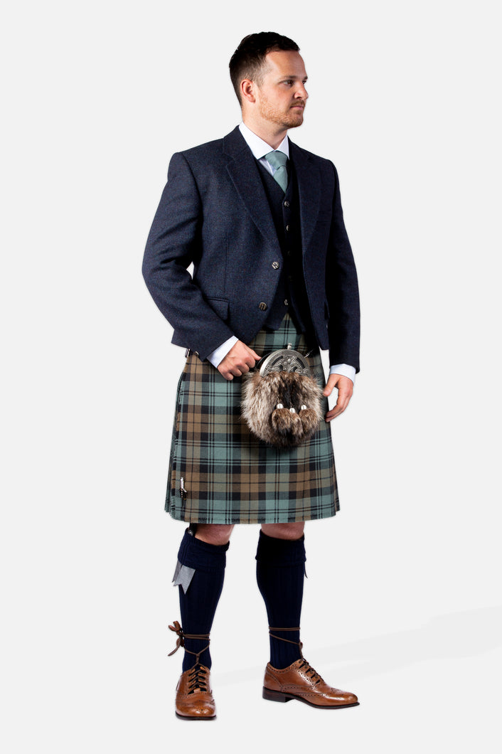 Black Watch Weathered / Navy Tweed Hire Outfit
