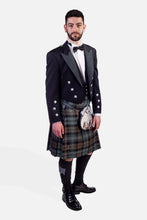 Load image into Gallery viewer, Black Watch Weathered / Prince Charlie Hire Outfit