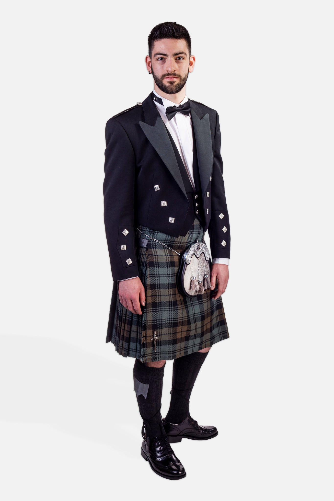 Black Watch Weathered / Prince Charlie Hire Outfit