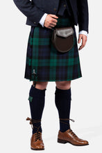 Load image into Gallery viewer, Black Watch / Navy Tweed Hire Outfit