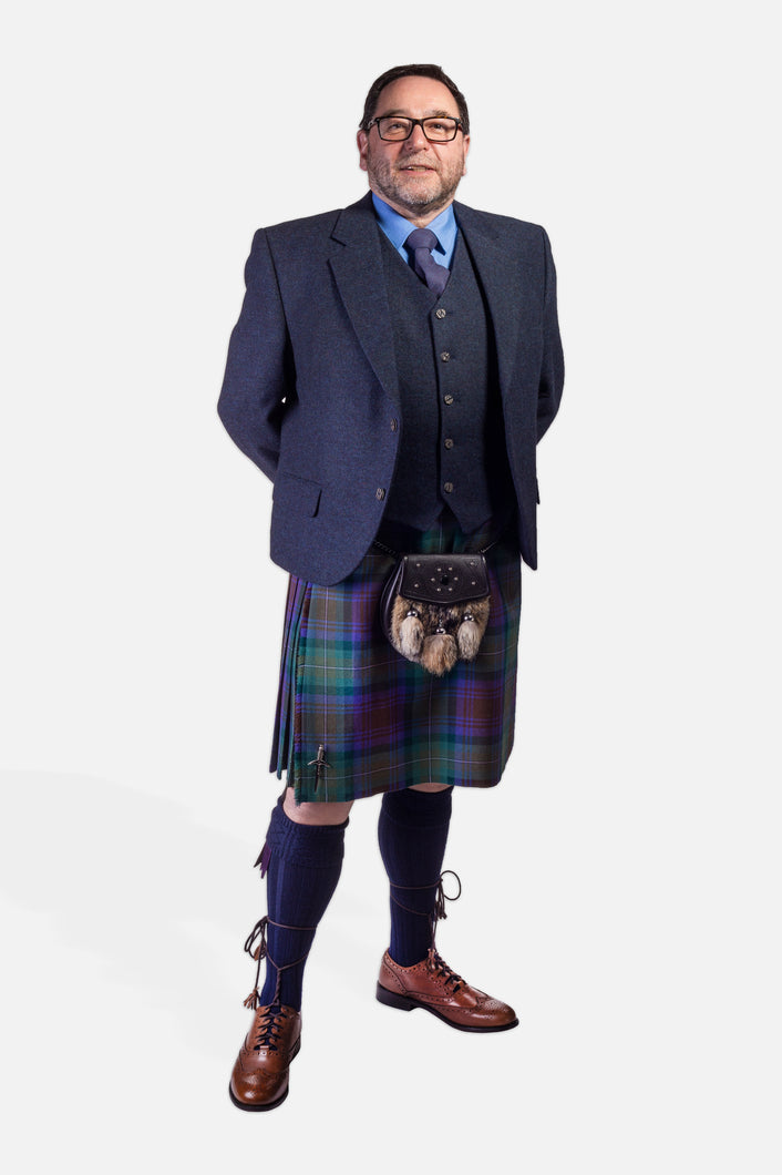 Isle of Skye / Navy Tweed Hire Outfit