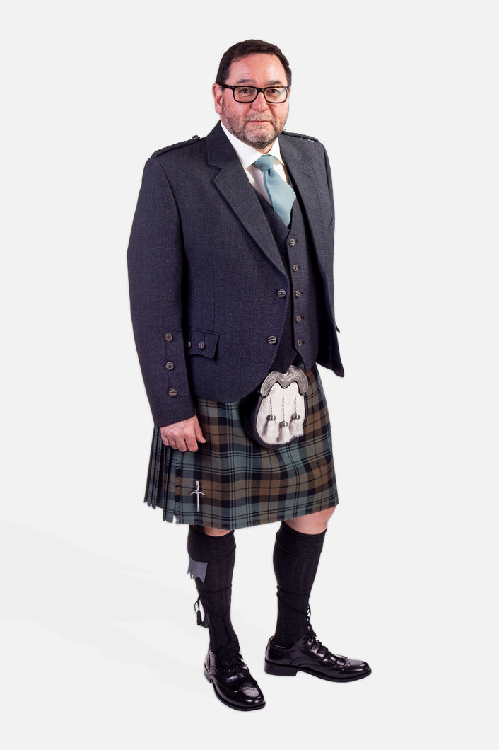 Black Watch Weathered / Charcoal Holyrood Hire Outfit
