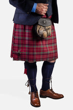 Load image into Gallery viewer, Red Nicolson Muted / Navy Tweed Hire Outfit
