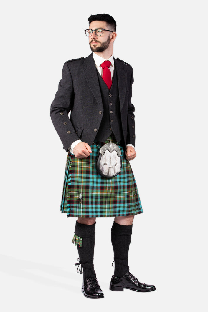 Hunting Nicolson Muted / Charcoal Holyrood Hire Outfit